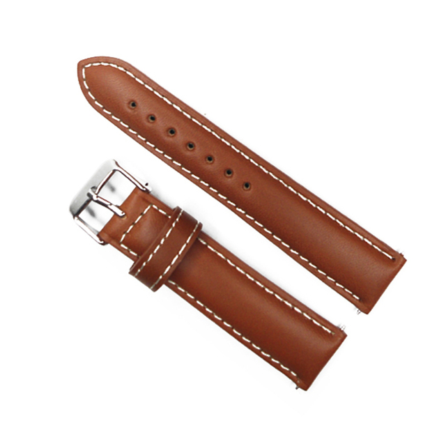 479d5909393 Watch Strap 20mm Vintage Style Watch Band Light Brown Italy Oil Genuine  Leather Watchband Strap For Hour Belt For Watches