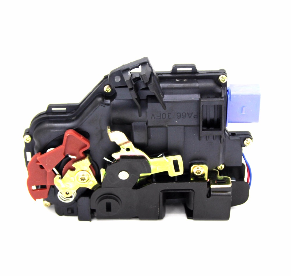 REAR LEFT SIDE DOOR LOCK ACTUATOR CENTRAL MECHANISM FOR VW GOLF PLUS (5M1, 521) 2005-2013 3D4839015A 7L0839015D