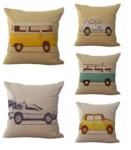 Cars Sofa Chair Sofas Unlimited And More Printed Car Cushion Cover Fundas Cojines Vintage Pillow Case Cotton Almofadas For Bed In From Home Garden On Aliexpress Com