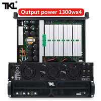 TKL PH4 professional power amplifier 4 Channel 4*1300w DJ amplifier subwoofer sound system audio stage