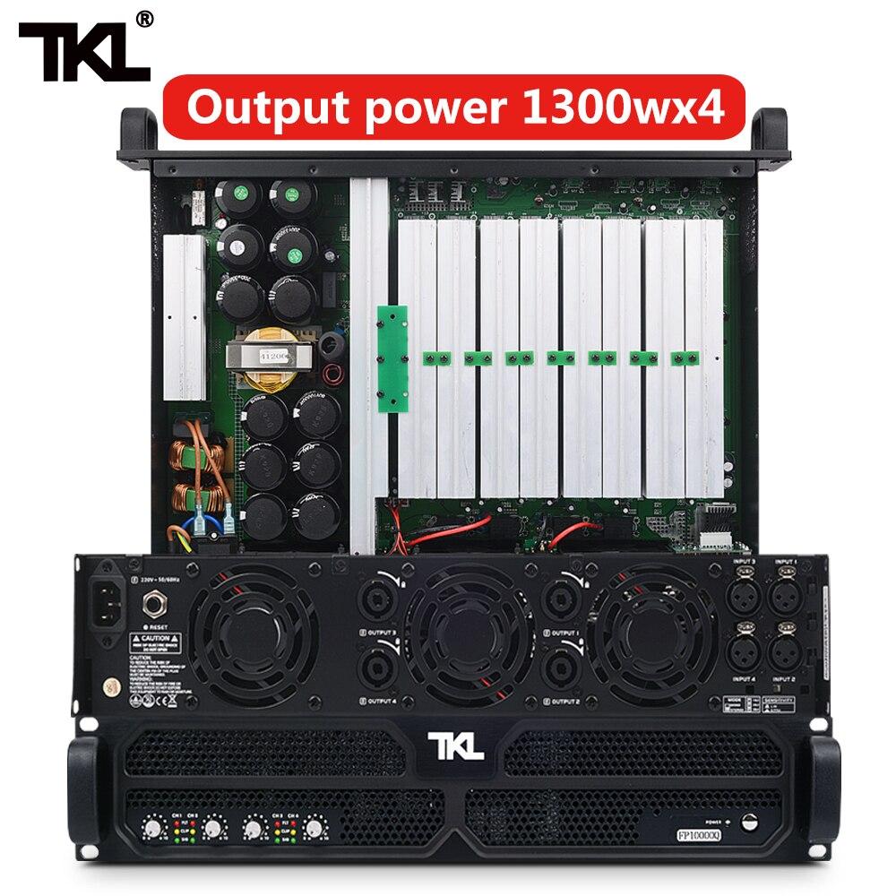 TKL PH4 professional power amplifier 4 Channel 4 1300w DJ amplifier subwoofer sound system audio stage