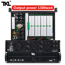TKL PH4 professional power amplifier 4 Channel 4*1300w DJ amplifier subwoofer sound system audio stage dj marine audio dj4 480 4 channel class d marine amplifier