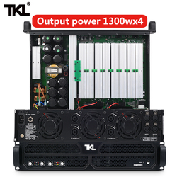 TKL PH4 professional power amplifier 4 Channel 4*1300w DJ amplifier subwoofer sound system audio stage