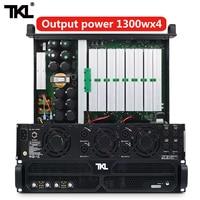 Tkl ph4 전문 파워 앰프 4 채널 4*1300w dj 앰프 서브 우퍼 사운드 시스템 오디오 스테이지 스테이지 오디오 가전제품 -