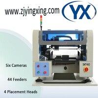 SMT линии машина для пайки печатных плат визуального положении размещение машина smt460 44 Кормление рыб и водные принадлежности 6 Камера + 4 глав