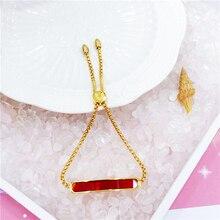 Hot Sale Bracelet Scripture Jewelry For Women Men Exquisite Metal Chain