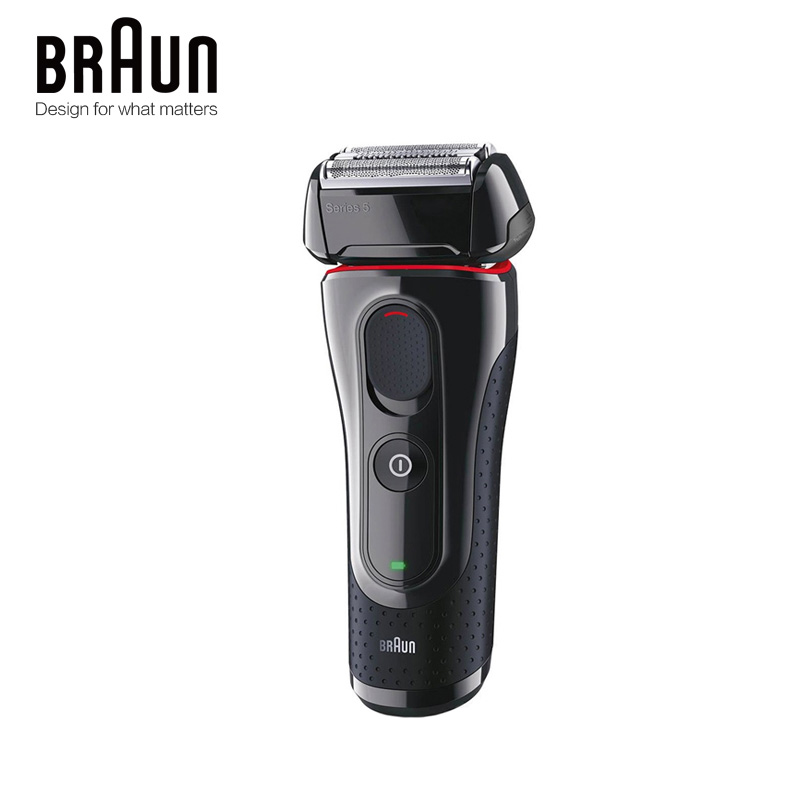 Image 3 - Braun Electric Razor Shaver 5030s For Men Rechargeable Blades High Quality Shaving Safety Quick Charge Reciprocating Triple Head-in Electric Shavers from Home Appliances