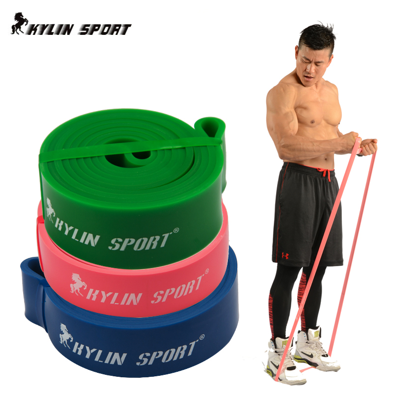 Body Building Resistance Band For Exercise Weight Lifting