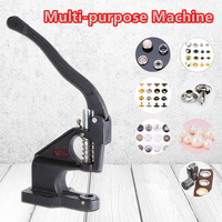 Pearl Rivet Hand Press Eyelet Rivet Machine Snap Button Clinching Machine Hardware Press Sewing Accessories Sewing Tools