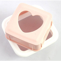 Free Shipping Kitchen Tools Toast DIY Molds Love Sandwich Bread Machine Mold Good Helper In The