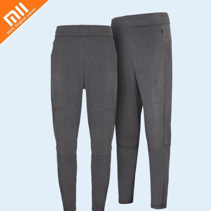 Original xiaomi mijia men's knit trousers (splicing models) deep hemp gray split design and modified leg-type men's trousers HOT chic double deck frame and hemp flower leg design sunglasses for women