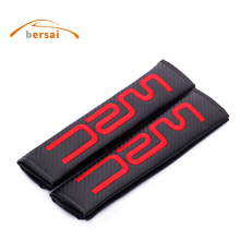 Car styling for WRC Carbon fiber seat belt cover shoulder pad for Citroen Toyota LANCIA ford renault peugeot Audi accessories