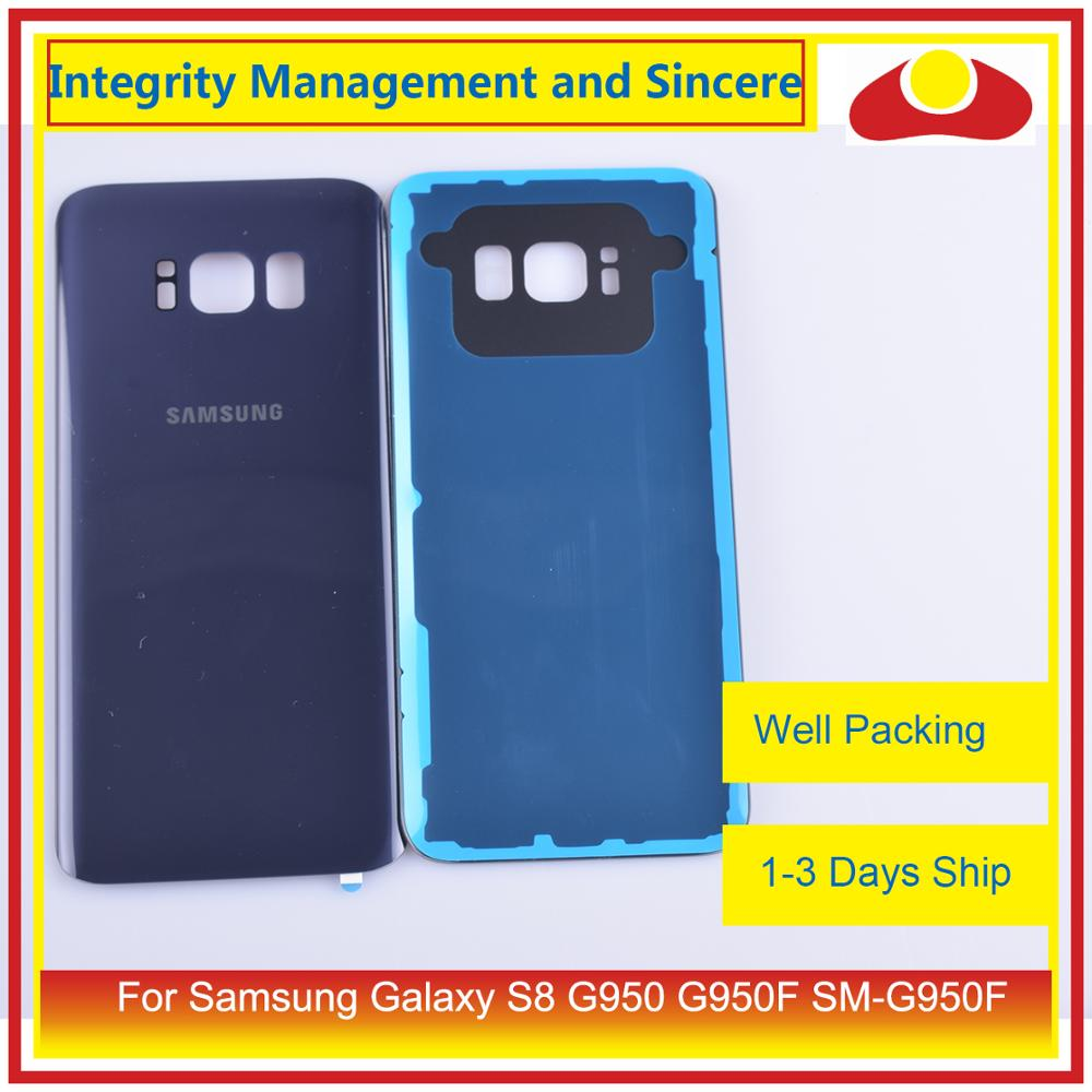 Image 3 - 50Pcs/lot For Samsung Galaxy S8 G950 G950F SM G950F Housing Battery Door Rear Back Glass Cover Case Chassis Shell-in Mobile Phone Housings & Frames from Cellphones & Telecommunications