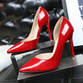 2017 Hot OL Office Lady Classics Women Sexy Stiletto High Heels Pumps Shoes Pointed Toe Shoes Wedding Party Court Shoes
