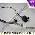Módulo de câmera ip video power cctv cabo com porta rj45 e dc 12 v, câmera ip apoio cauda fio 720 p 1080 p 3/4/5/6mp