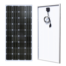Boguang 100w Monocrystalline silicon cell solar panel module Tempered glass Aluminum frame for 12v battery light power charger boguang 50w glass monocrystalline solar power station solar cell factory cheap selling 12v solar panel for home battery charge