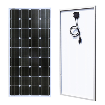 BOGUANG 18V 100w Monocrystalline silicon cell solar panel module Tempered glass Aluminum frame for 12v battery  power charger xinpuguang 600w solar system kit 6 100w solar panel monocrystalline silicon cell photovoltaic module home roof power generation