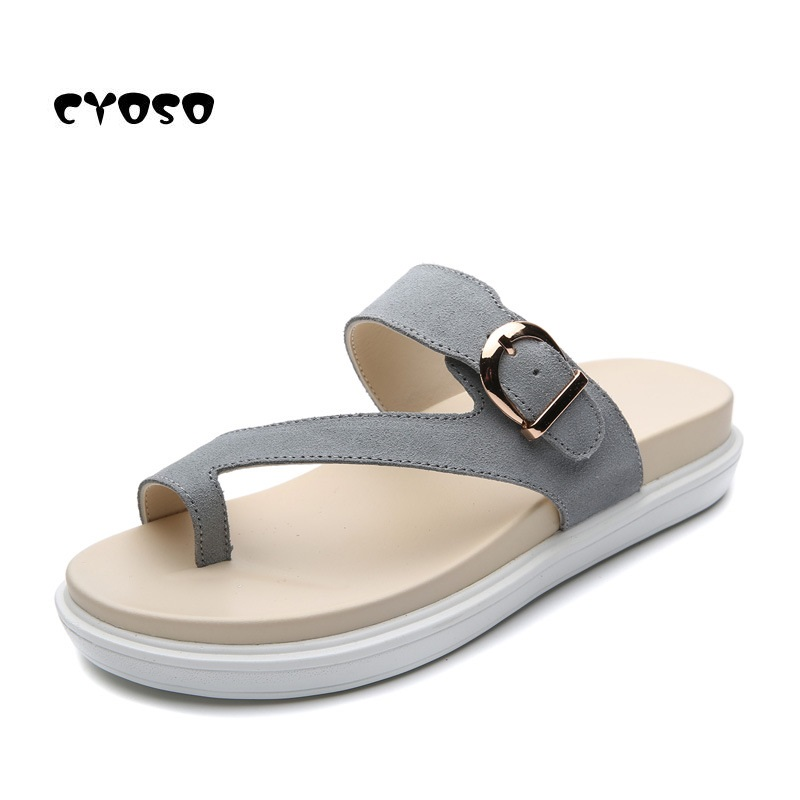 Cyoso 2018 Frauen Hausschuhe Sommer Strand Flip-flops Sandalen Frau Damen Wohnungen Schuhe Sapato Feminino Harmonische Farben