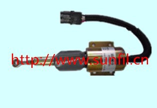 3930235 Fuel Shutdown Solenoid Valve SA-4348-12 for  Engine,12V,3PCS/LOT  free fast shipping fuel shutdown solenoid valve 153es 2212480 sa 4269 12 12v for mitsubishi komatsu wa320 3 kubota