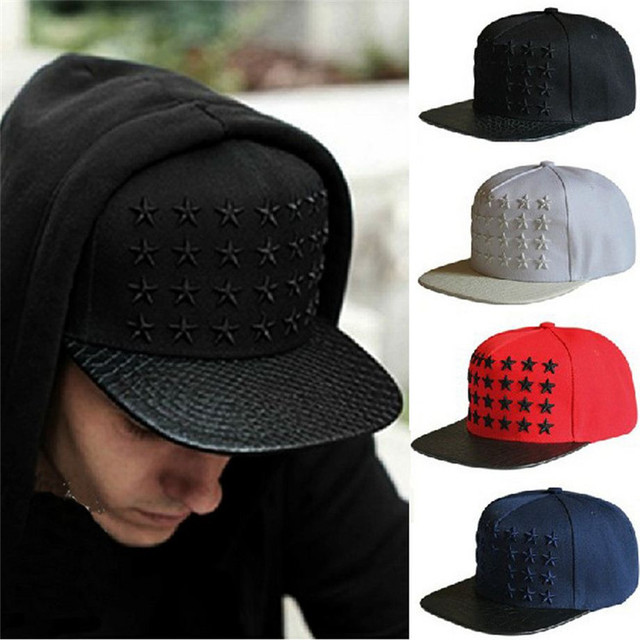 17083c90dc0b € 10.22 |Gorras Planas Wholesale Retail 2015 Brand New Sports Baseball Cap  Star Embroidery Cotton Hip Pop Flat Hat Free Shipping en Disfraces fiestas  ...