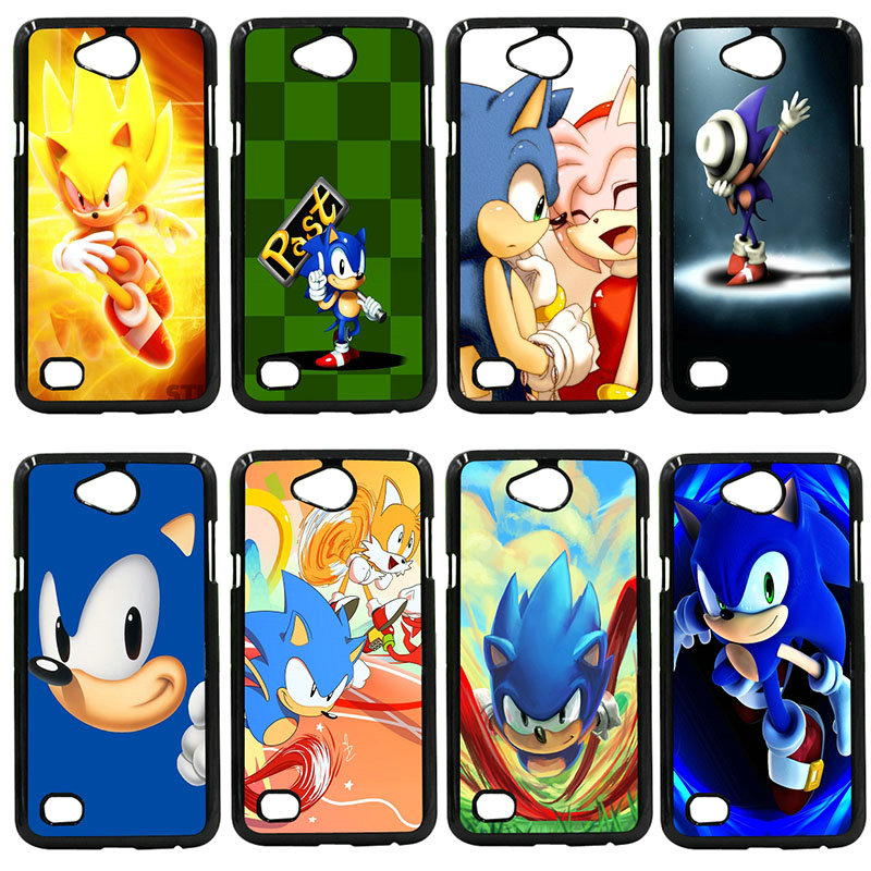 Sonic The Hedgehog Series Phone Case Hard PC Cover For LG L Prime G2 G4 G5 G6 G7 K4 K8 K10 V20 V30 Nexus 5 6 5X Pixel Shell