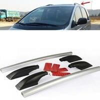 For Toyota PREVIA 2002-2012 2pcs Aluminum Alloy Top Roof Rack Rail Mount