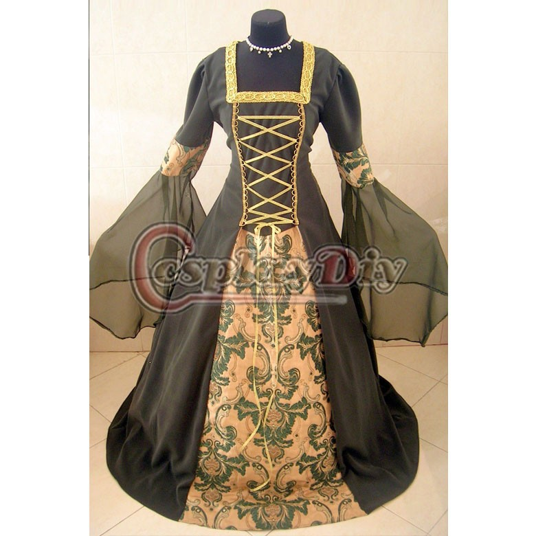 Discount Custom Made Vintage Victorian Medieval Style: Popular Lotr Dresses-Buy Cheap Lotr Dresses Lots From