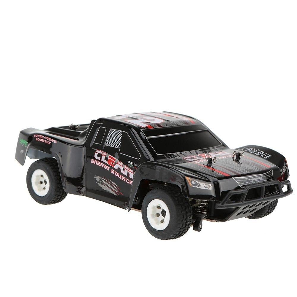 Mais novo A232 1/24 2.4g Escovado 4WD Curso De Curta Duração Elétrica RTR RC Carro Off road De Buggy RC Carro de Drift brinquedos para as crianças vs A979 L202 - 2