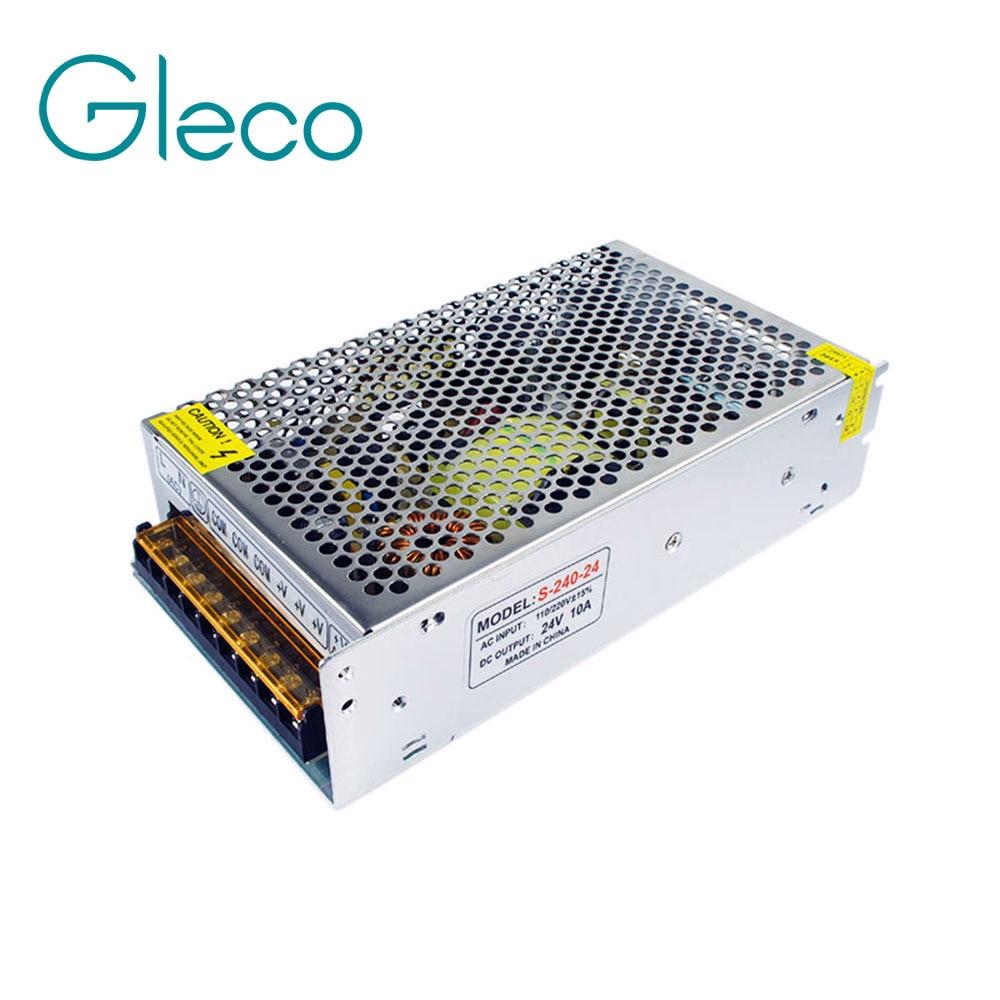 24V 10A 240W 110V 220V Lighting Transformer,High quality LED driver for LED strip light 12V power supply,power adapter