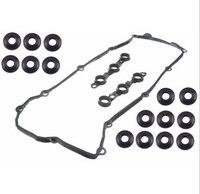 10 pçs válvula de vedação da junta 15 parafuso para bmw victor reinz e46 e39 e53 e36 motora
