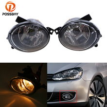 POSSBAY Front Bumper Driving Fog Light Lamp Housing For VW Jetta MK6 2011-2014 Automotive Car Head Light Bulbs Lamp