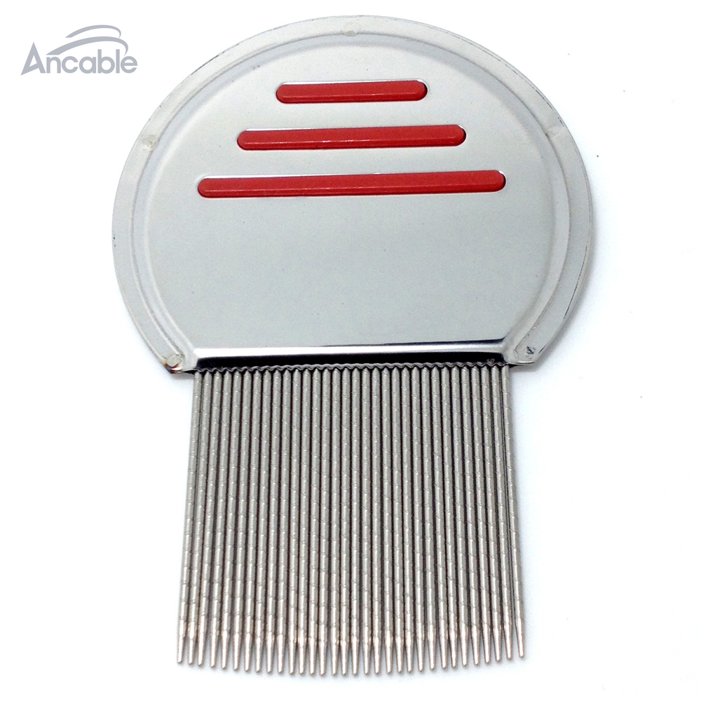 Get down to Nitty gritty Lice Comb Nit Free Kids Hair Rid Headlice stainless steel Metal