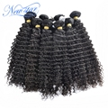 new star 10bundle brazilian virgin human hair extension weaves deep curl 100% natural color big curls wholesale price