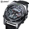 LIANDU Fashion Watch Men Waterproof LED Sports Military Watch Shock Resistant Men's Analog Quartz Digital Watch relogio masculin