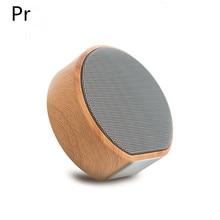 Speaker Portable Mini Wireless Player waterproof Outdoor Stereo Soundbar Speaker Wood Stereo Outdoor Bluetooth Music Speaker