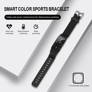 Image 4 - 3 Dagen Op Speciale Aanbieding Multicolor Verwisselbare Strap Smart Armband Met Fitness Tracker Monitor Slimme Band