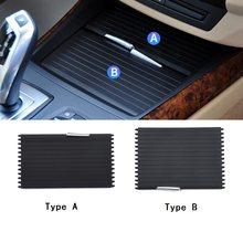 Yootobo estilo do carro interior centro console suporte de copo água capa guarnição para bmw e70 e71 x5 x6 2007-2013