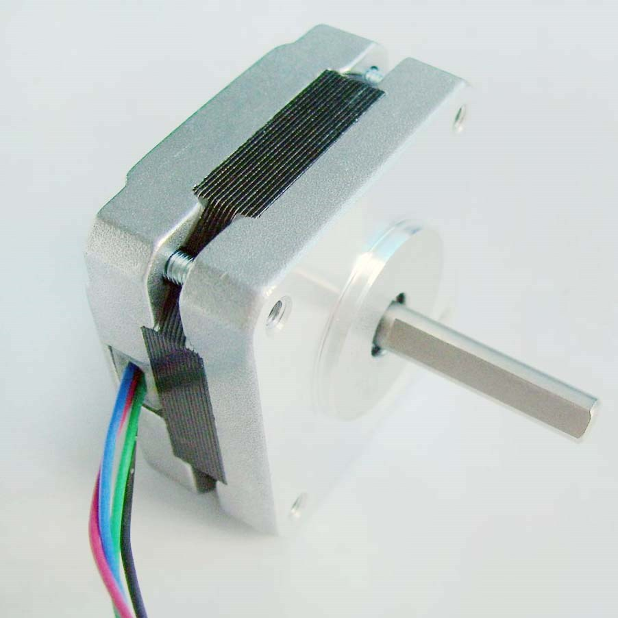 2pcs/lot 1.8 degrees NEMA 16 Stepper motor with 8 n. cm 11oz-in Frame 39 mm CNC Stepper motor Nema16 4-lead Length 20 mm ce rohs 0 9 step degree nema14 round stepper motor with 8 8n cm 12oz in length 20mm ce cnc step motor
