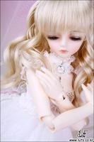1/4 scale 43cm  BJD nude doll DIY Make up,Dress up SD doll.LUTS Cute Girl .not included Apparel and wig