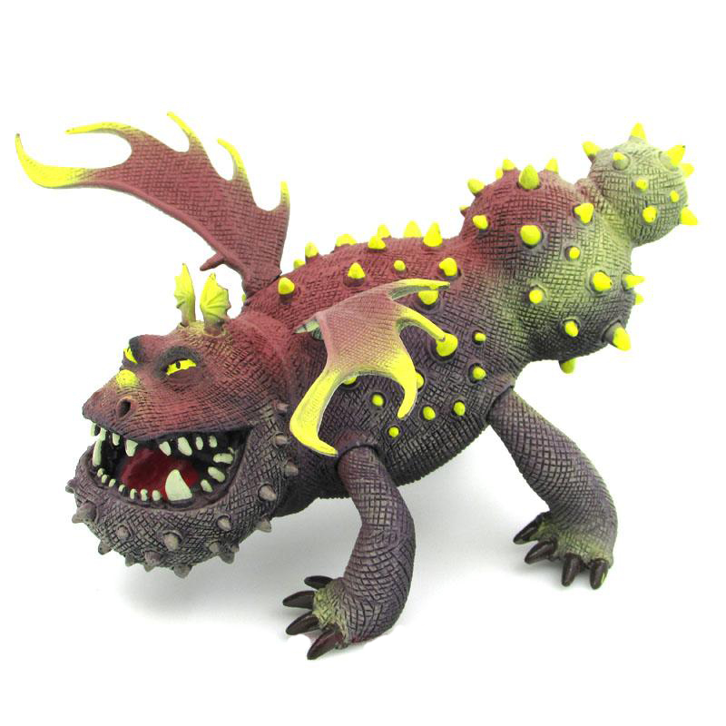 Image 4 - Servwell Dragon Master 25 37cm Toothless Night Fury Action Figure Toy Deadly Nadder Hageffen Gronckle Collectible Toy ChildrenAction & Toy Figures   -