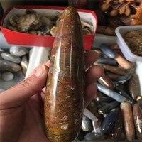 Natural Malagasy mineral manaus, manaus massage stick, straight stick point female masturbation tool