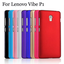 Super Frosted Shield Case Cover For Lenovo Vibe P1 phone bags skin cases Lenovo Vibe P1 5.5 Inch case Coque Capa цены