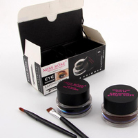 MISS ROSE Brand 2 In1 Brown Black Eyeliner Make Up Long Lasting And Easy To Wear