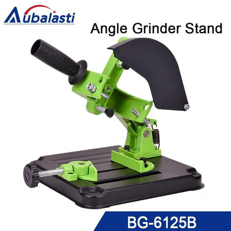 Angle Grinder Stand Aluminum bracket iron base Angle Grinder Holder support for 100 115mm angle grinder cutting aluminum angle grinder bracket holder