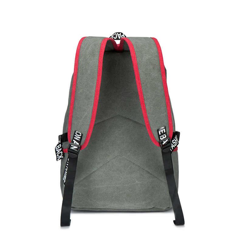 Для мужчин мужской холст рюкзак наблюдателя школьные ноутбук рюкзак дорожные сумки для подростков Винтаж Mochila повседневное