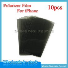 MXHOBIC 10pcs/lot LCD Back Polarizer Film For iPhone 6 6S 7 plus 5 5S 5c Bottom Polarization Polarized Light Film Replacement