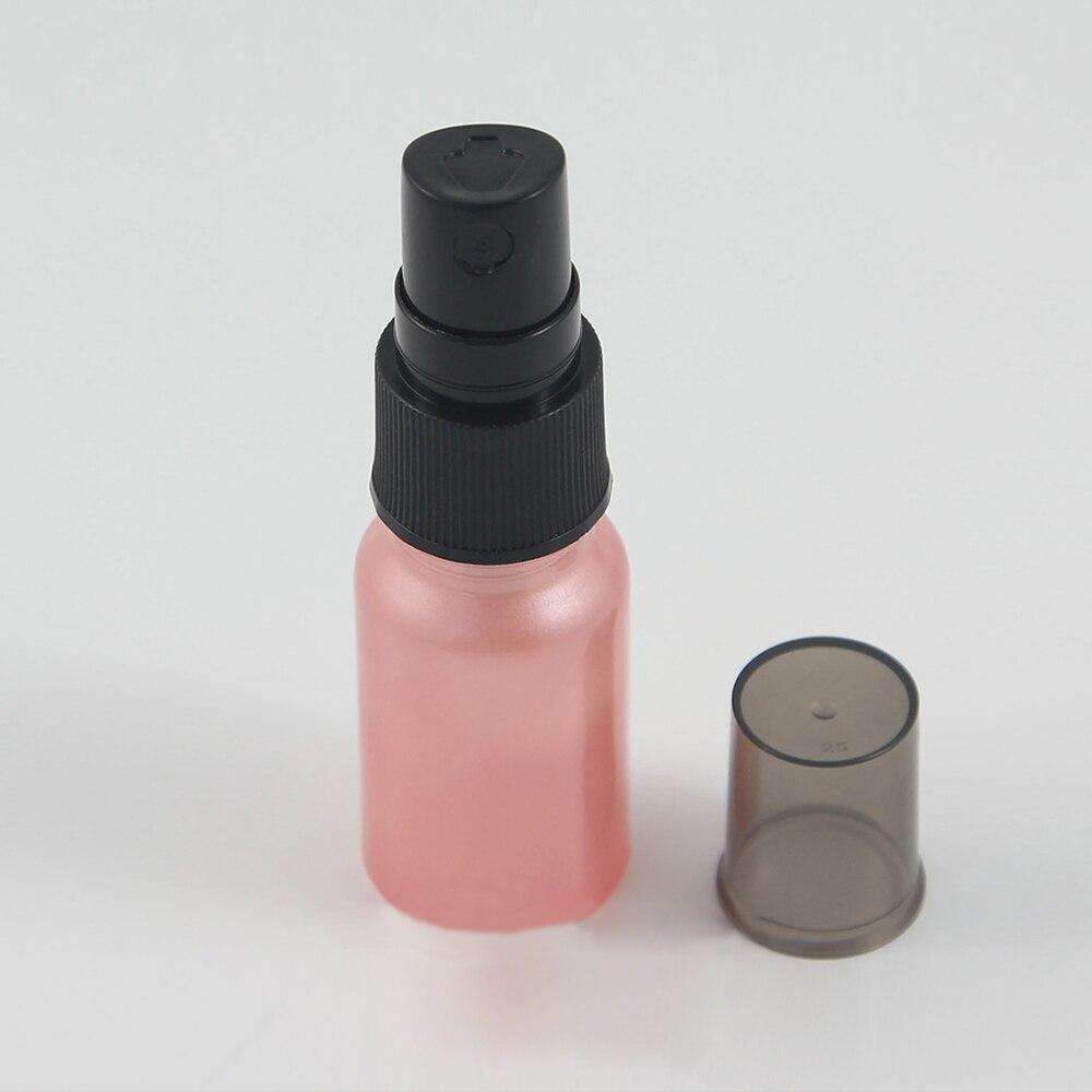 pcs atacado 10 50 ml rosa viagem recarregaveis vazio recipiente de perfume de vidro com pulverizador
