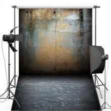 Cenários de Fotografia Vinil Fundo Da Parede de Tijolo de Concreto do vintage Retro Chão Novo Tecido de Flanela Para O estúdio de fotografia de Casamento 685