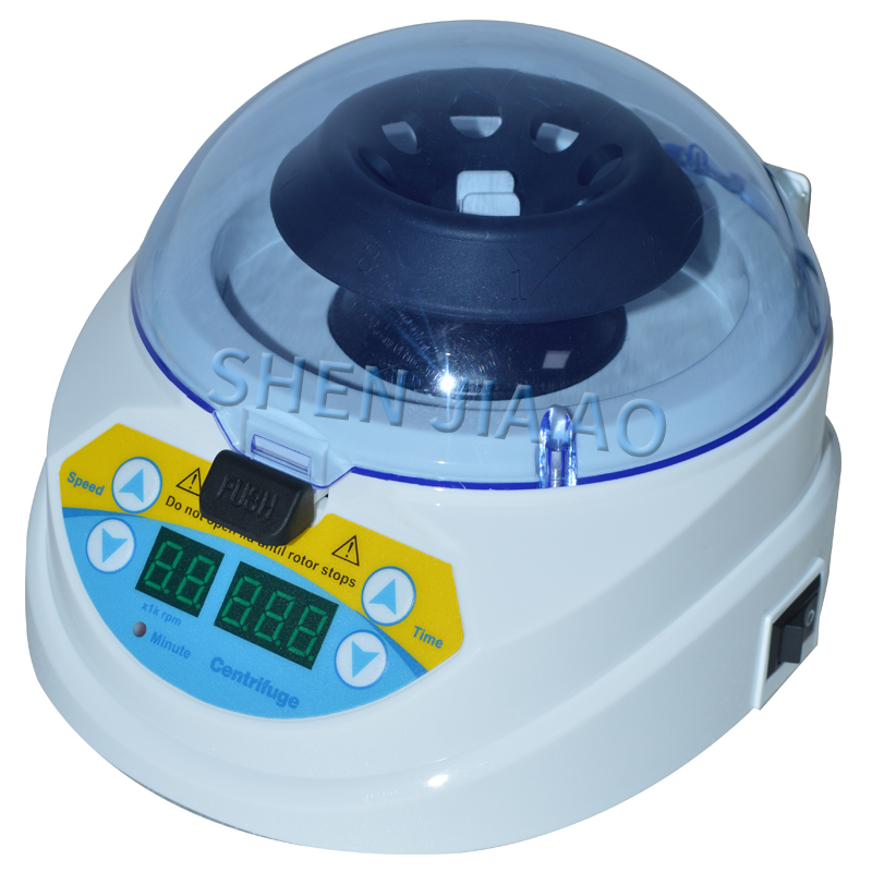 3000~10000rpm 1000~7500g 220v and 110v Mini Centrifuge Mini-10K