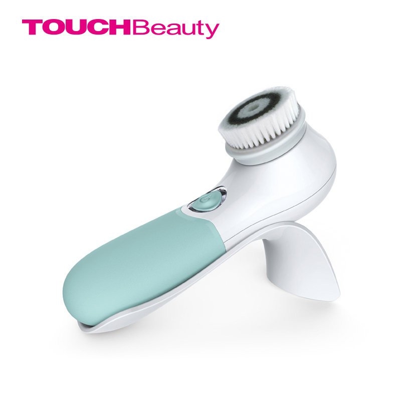 TOUCHBeauty 360 Rotary Facial Cleansing Brush with Dual Speed, Waterproof, Silky-soft bristles,Face Exfoliating Cleanser TB-1483 deep face cleansing brush facial cleanser 2 speeds electric face wash machine